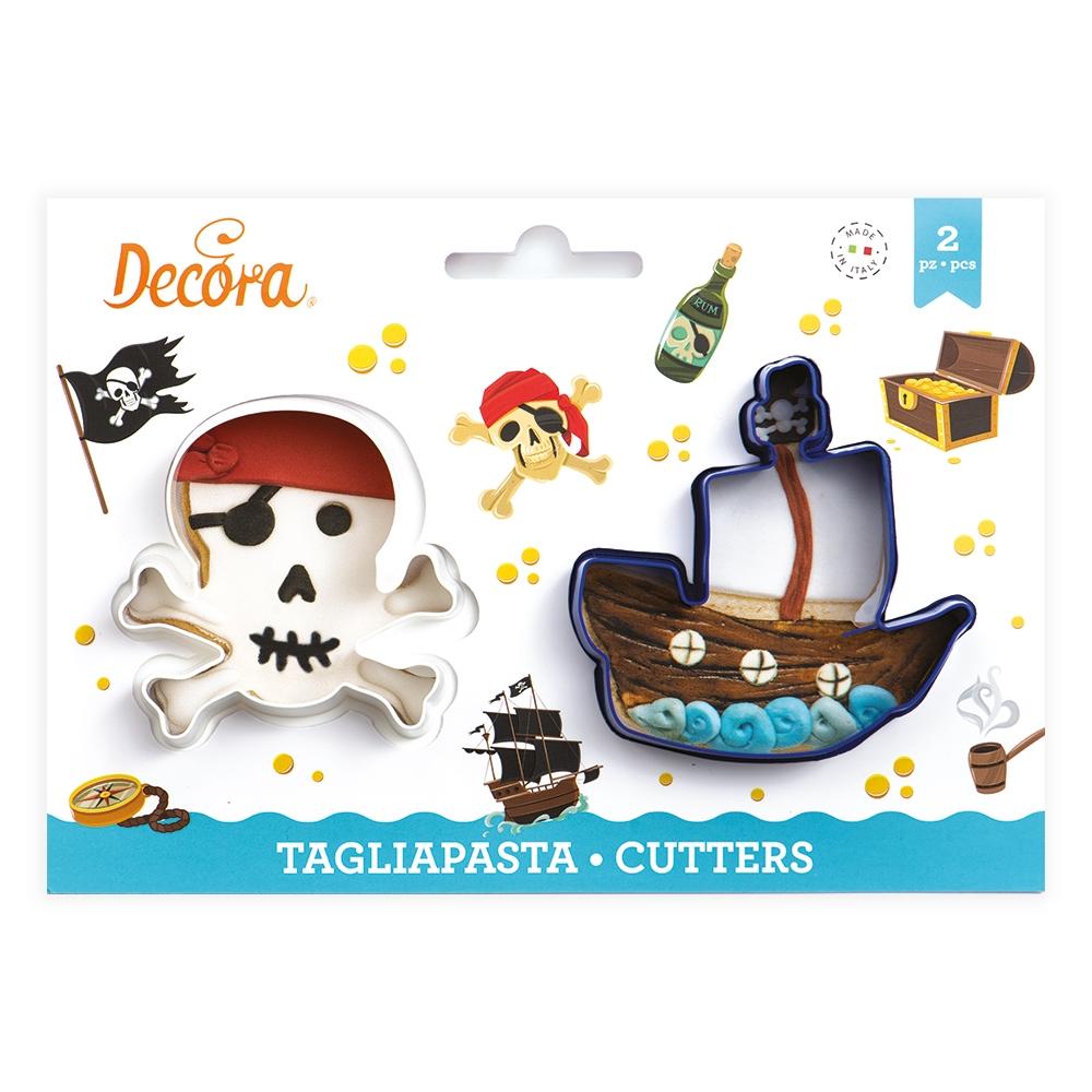Decora Utstikkere - Pirat og Skip