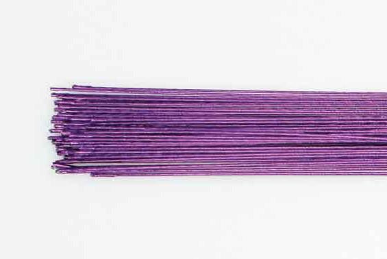 Blomsterwire Lilla 50stk 0,50mm 24 gauge