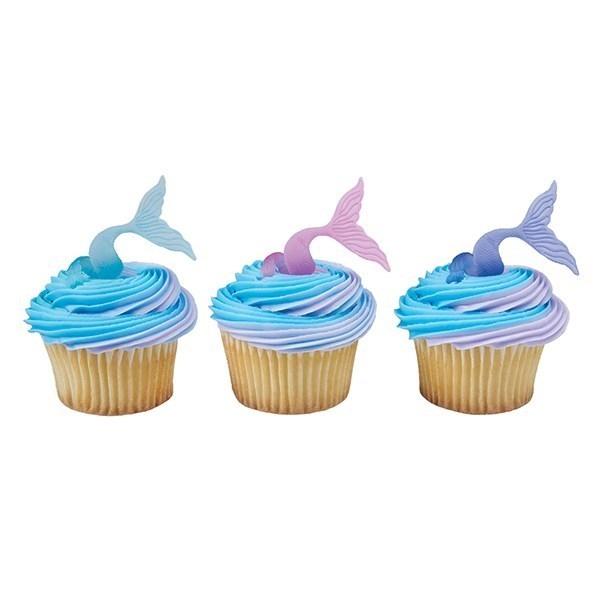 Dekorasjon Til Cupcake - Havfruehale pk/144