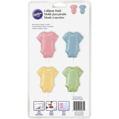 Wilton Lollipop mold Babybody