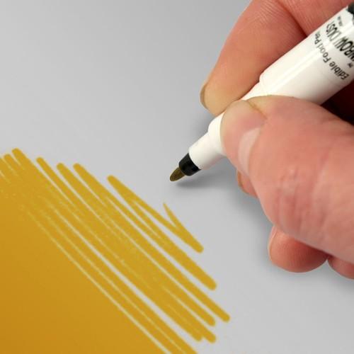 Food Art Pen spiselig tusj - Mørk gull