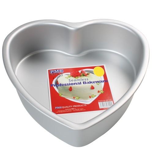 Kakeform, hjerte, 35 cm x 7,5 cm