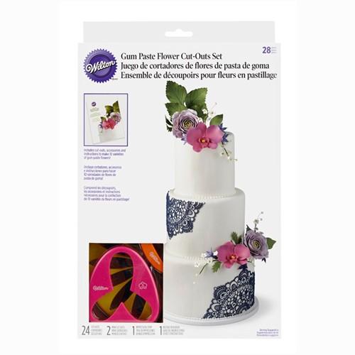 Wilton Blomsterutstikker-sett, 28 deler