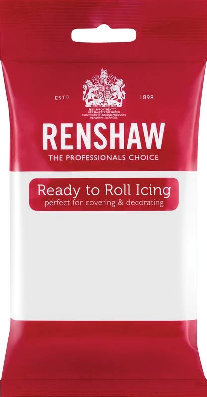 Hvit fondant fra Renshaw, 250g