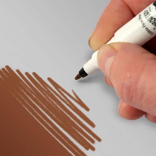Food Art Pen spiselig tusj - Sjokolade