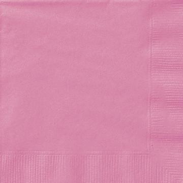 Servietter, Rosa små -Hot pink- pk/20