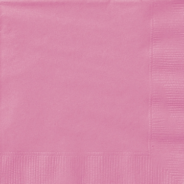 Servietter, Rosa -Hot pink- pk/50