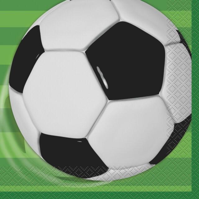 Fotball servietter, 16 stk
