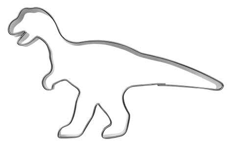 Pepperkakeform dinosaur T-rex - 10,5 cm