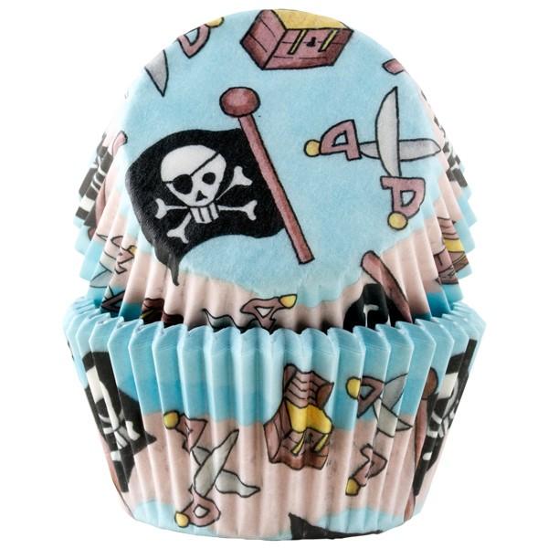 Muffinsform Pirat, 50 stk