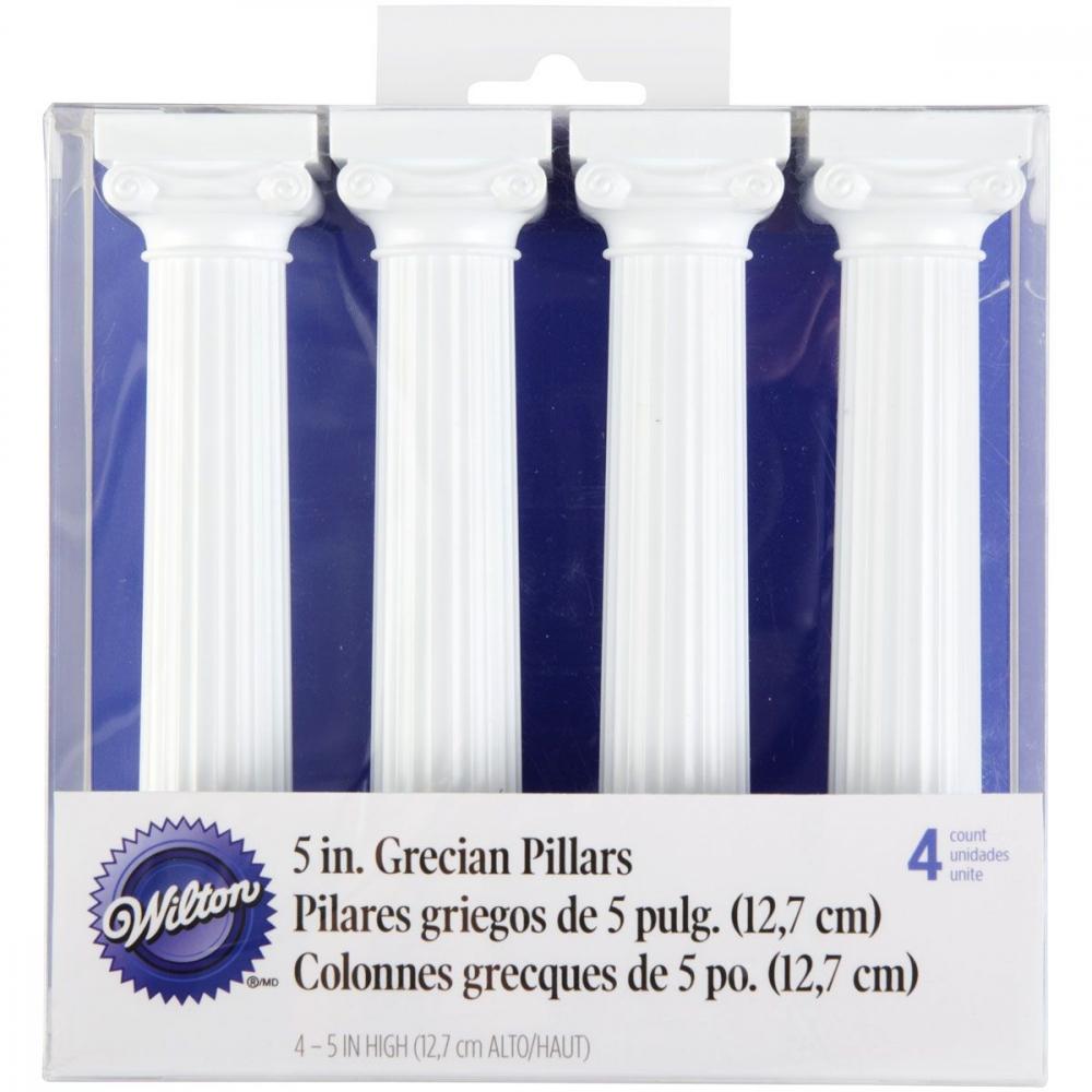 Wilton Greske Pilarer -12,7cm- pk/4