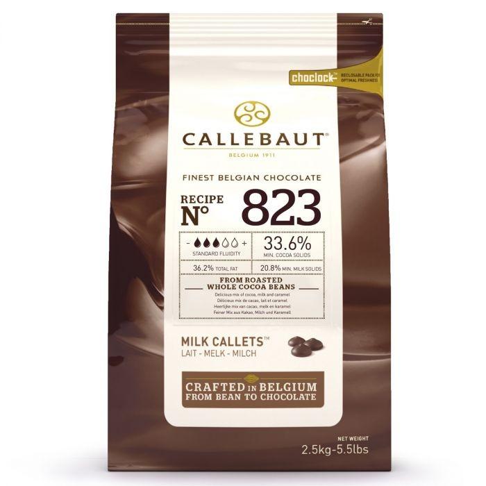 Callebaut lys sjokolade - 2,5kg