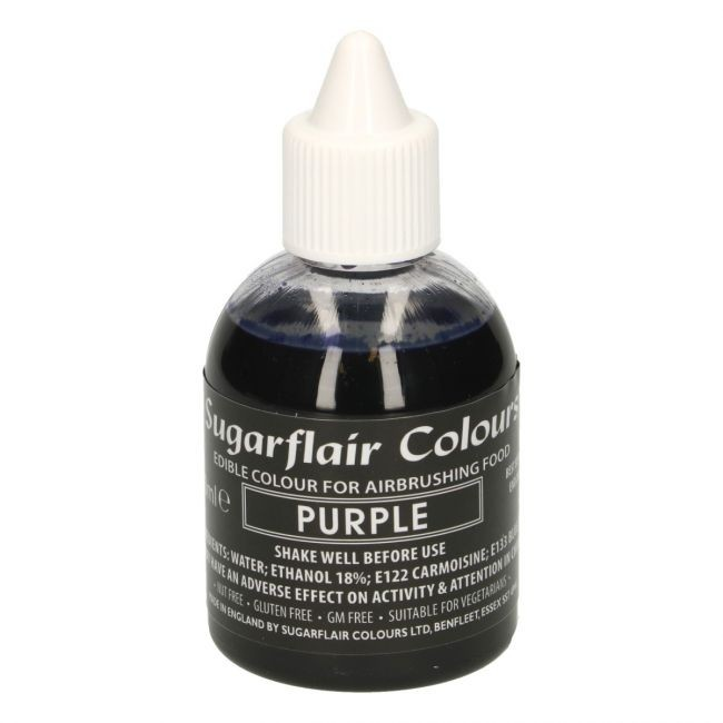 Sugarflair Airbrushfarge -Lilla- 60ml