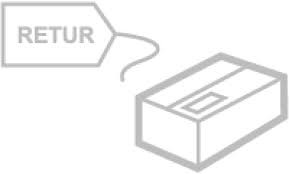 Retursending (motta returetikett)