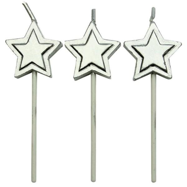 Kakelys Stjerne Sølv, sett med 8