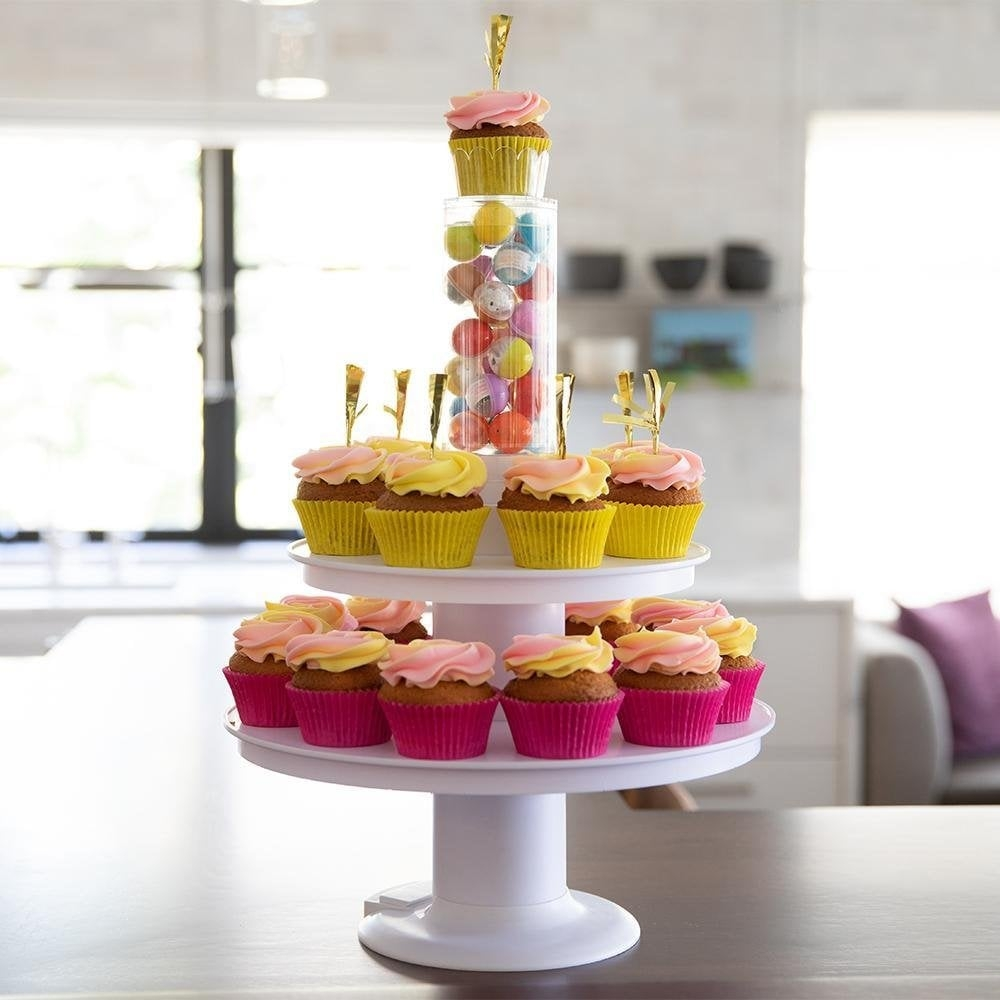 Surprise Cake 2-i-1 - Poppestativ og muffinsstativ