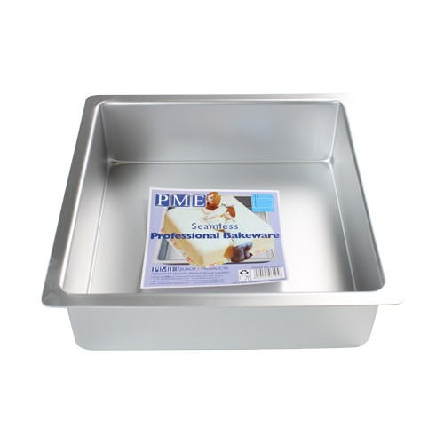 PME Dyp Firkantet kakeform -15x15x7.5cm-