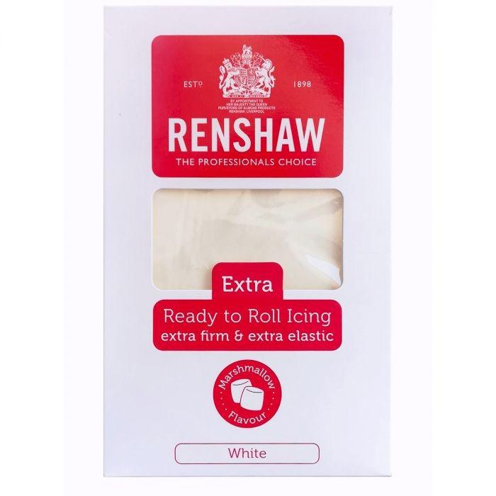 Hvit fondant fra Renshaw -Marshmallow- 1kg