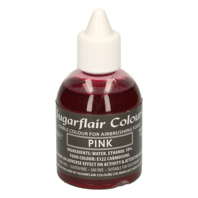 Sugarflair Airbrushfarge -Rosa- 60ml