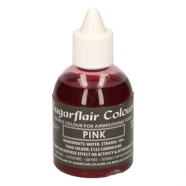 Sugarflair Airbrushfarge -Rosa- 60ml