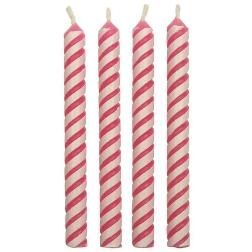 PME Kakelys striper -Rosa- pk/24