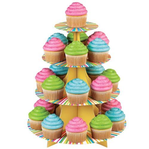 Wilton Cupcake Stand Flerfarget