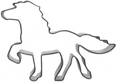 Pepperkakeform hest -Islandshest- 12 cm