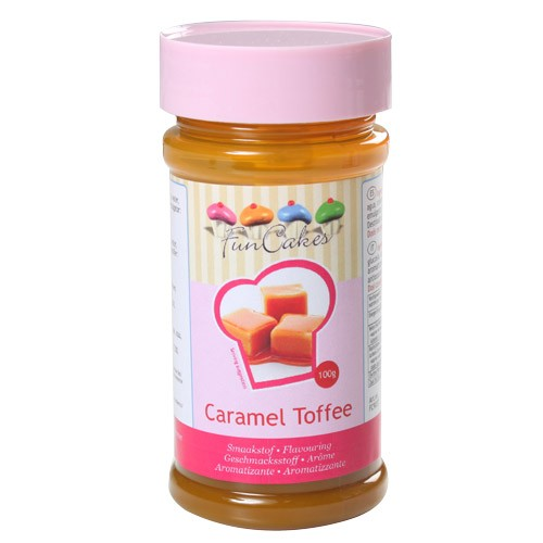 FunCakes Smakstilsetning -Toffee karamell- 100g