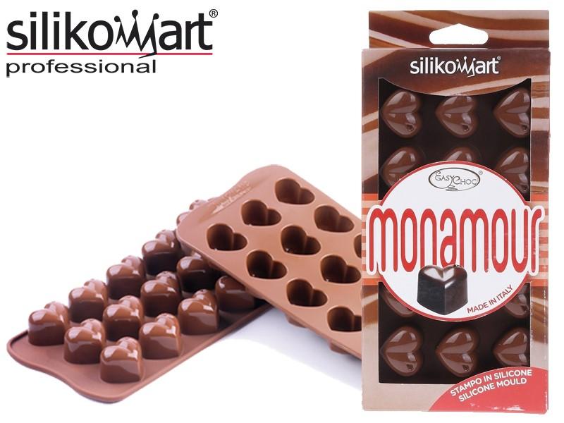 Silikomart Sjokoladeform Hjerter