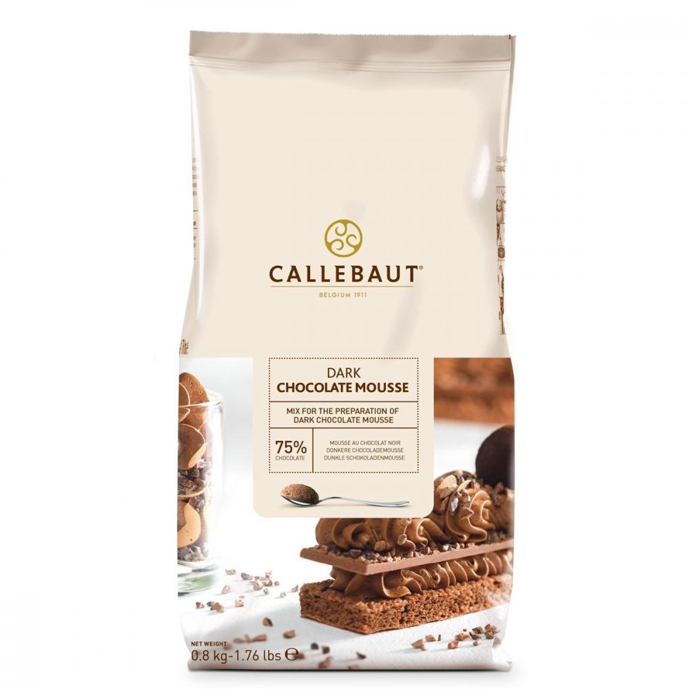 Callebaut Mørk Sjokolademousse, 800g