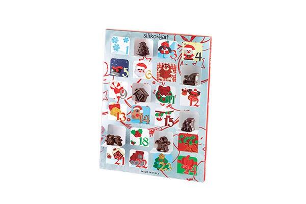 Silikomart Ekstra innpakninger til julekalender, 2stk