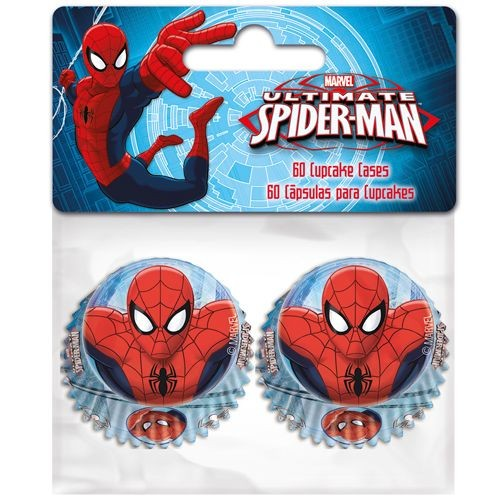 Muffinsformer Mini -Spiderman- pk/60