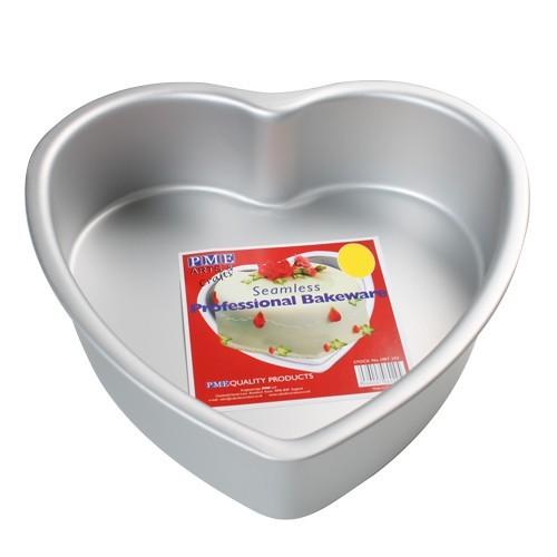 Kakeform, hjerte, 30 cm X 7,5 cm