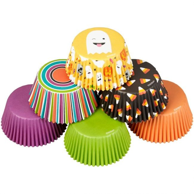 Wilton Muffinsformer Emoji-spøkelse pk/150