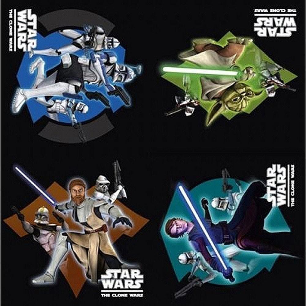 Servietter Star Wars The Clone Wars pk/16