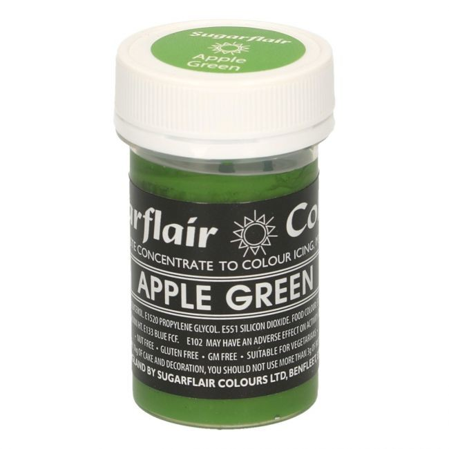 Sugarflair pastafarge Apple Green, 25g