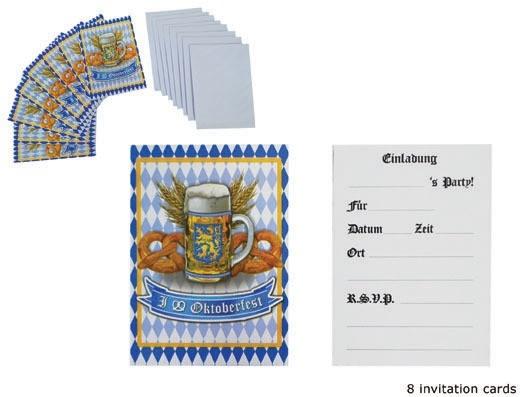 Invitasjonskort til Oktoberfest, pk/8
