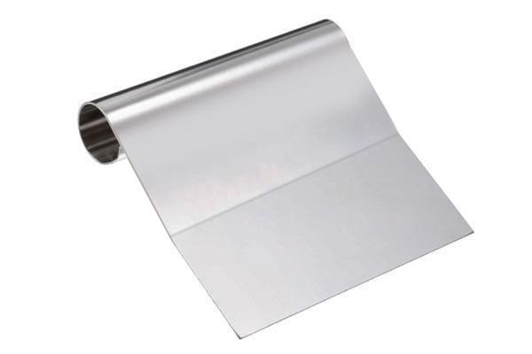 Silikomart bakeskrape i stål, knekk, 12cm