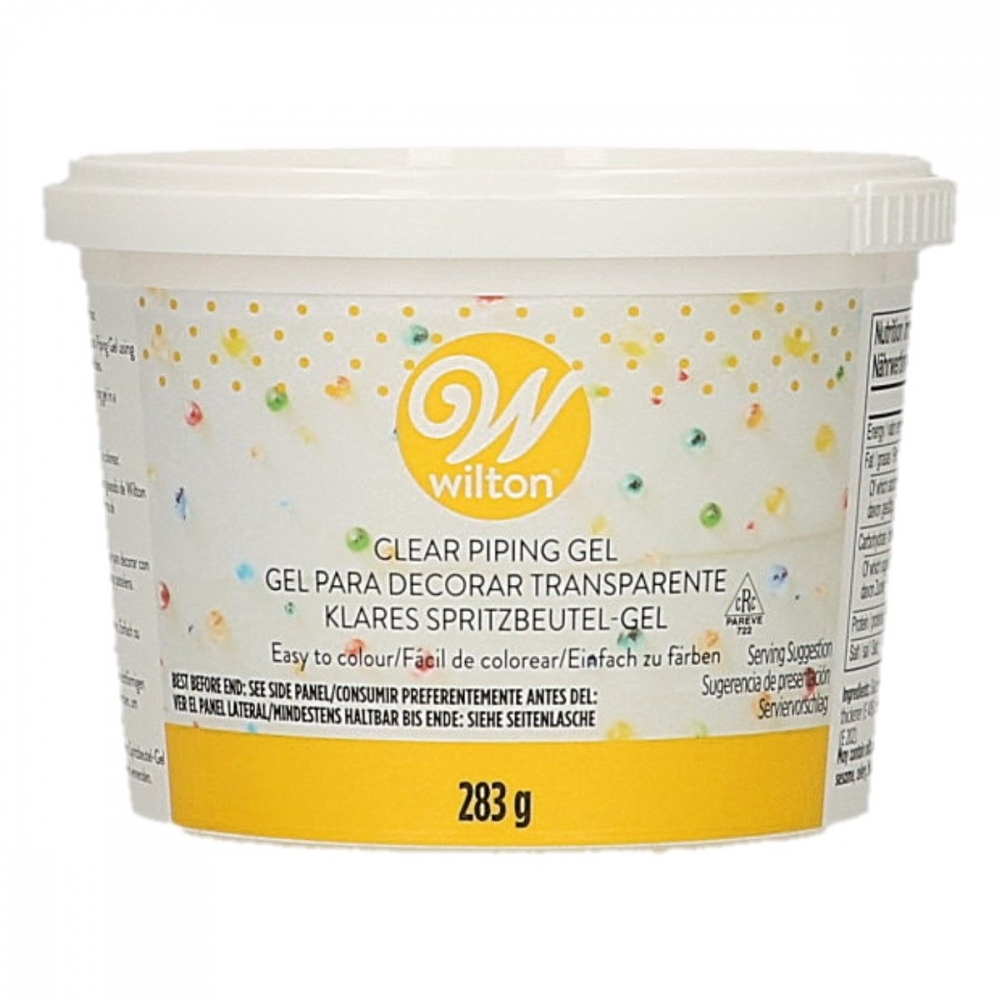 Wilton Piping Gel, Blank dekoreringsgele, 283g