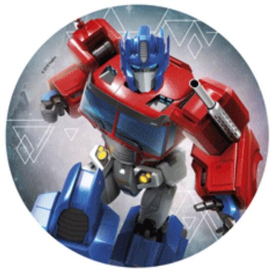 Kakebilde -wafer- Transformers 20cm -nr2