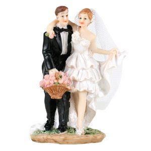 Brudepar dansende 11,5cm