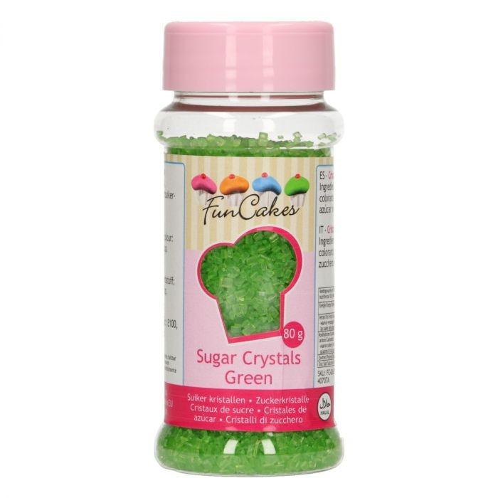 Kakestrø Farget Sukker Grønn, 80g