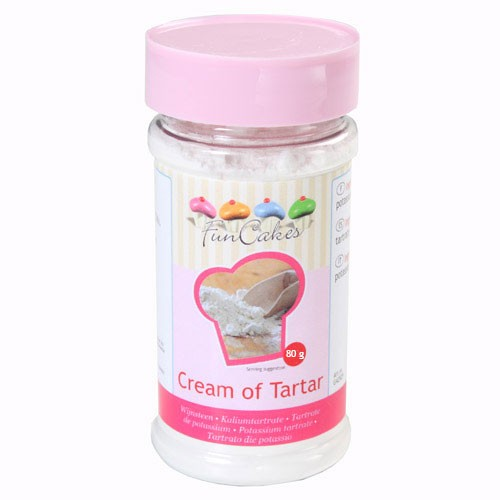 FunCakes Cream of Tartar -80g-