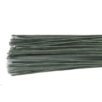 Blomsterwire Mørk grønn 50stk 0,30mm 28 gauge