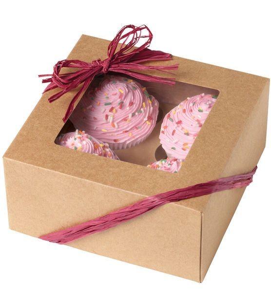 Wilton Eske til 4 cupcakes -Kraft- pk/3
