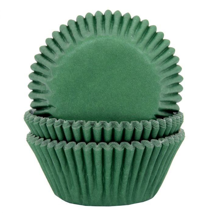 House of Marie Muffinsformer -Mørk grønn- pk/50