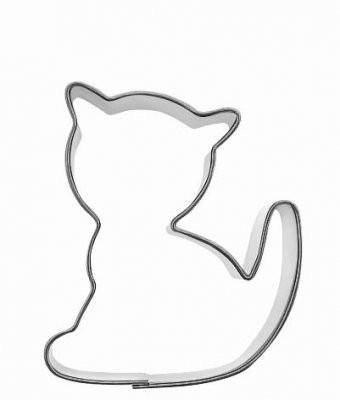 Pepperkakeform katt liten - 5 cm