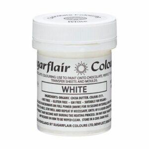 Sjokoladefarge hvit