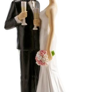 Kaketopp til bryllup -Glass- 16cm