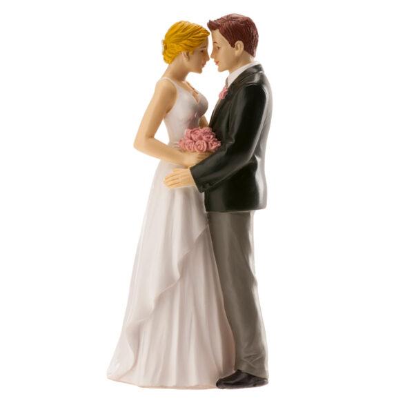 Kaketopp til bryllup -Forførende- 16cm